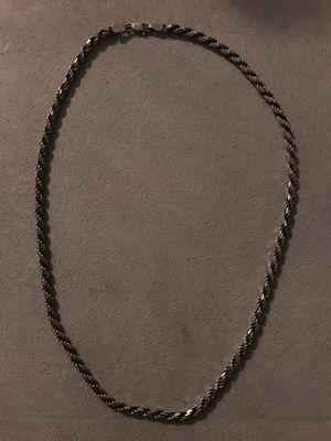 Italian .925 silver chain for Sale in Turlock, CA