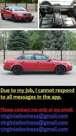 SUPER CLEAN/ Audi A4 1.8T92K MILES for Sale in Chicago, IL