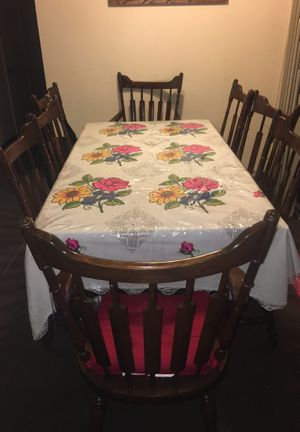 Antique Table with 8 chairs! for Sale in San Francisco, CA