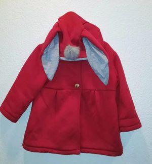 Kid Toddler Bunny Ears Hoodie Size 3 - 4 for Sale in El Paso, TX