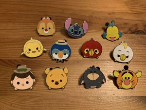 Disney Trading pins - Tsum Tsum set for Sale in Brea, CA