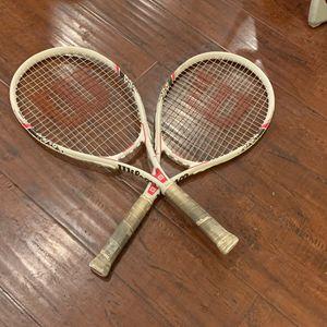 Wilson Tennis Racket Set for Sale in Temple City, CA