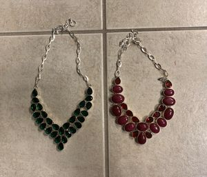 Today only! 2 new tourmaline sterling silver for Sale in Palatine, IL