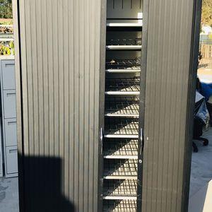 APW Tambour Door Metal Storage Cabinet for Sale in Ontario, CA