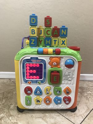 Vtech Ultimate Alphabet Cube for Sale in Peoria, AZ