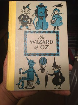 The Wizard Of Oz Junior Deluxe Edition L.Frank Baum. Hardcover. 1944 edition. for Sale in Dallas, TX