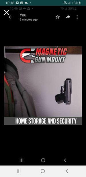 Metal magnetic pistol mounts for Sale in Westland, MI