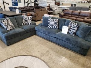 New 2pc set sofa and loveseat tax included delivery available for Sale in Hayward, CA