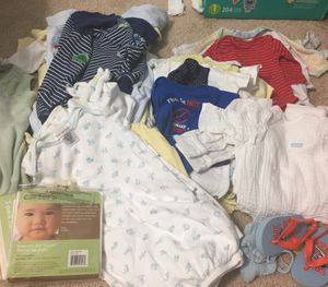Baby boy Summer clothes NB to 6 months for Sale in Oakton, VA