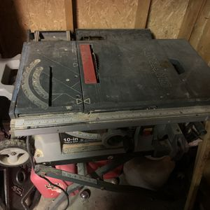 Craftman 10in. Mode 315 Table Saw for Sale in Avon Lake, OH