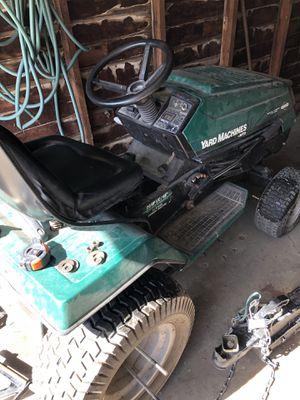 3-1 yard mulcher 22 speed 42 in blades for grass snowblower and dirt tilter for Sale in Detroit, MI
