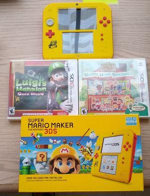 Nintendo 2ds Super Mario Maker for Sale in Kissimmee, FL
