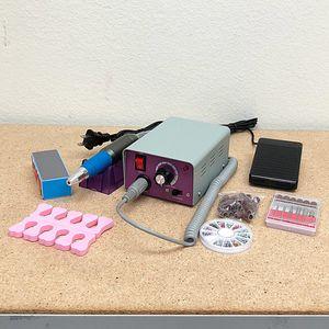 Brand New $35 Salon Pro Manicure Tool Pedicure Electric Drill File Nail Art Pen Machine Kit for Sale in Pico Rivera, CA