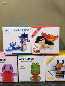 Pokemon Micro Brick Building Sets for Sale in Queens,  NY
