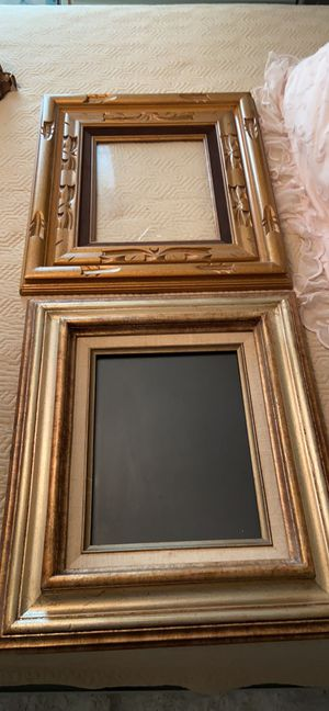 2 vintage custom wood frames 8x10 photo for Sale in Longview, TX