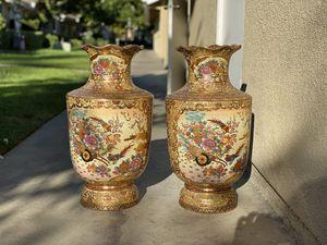 Gold gilt Porcelain Palace Pots for Sale in Fresno, CA