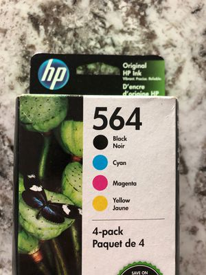 Hp 564 ink cartridges 4 pack unopened for Sale in Surprise, AZ