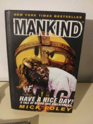 wwf mankind book for Sale in Los Angeles, CA