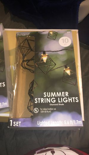 summer string lights 10ct for Sale in The Bronx, NY