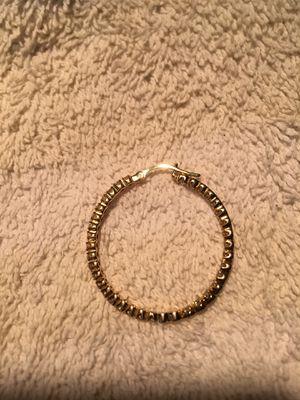 # 1 14k diamonds hoop earring 35 diamonds for Sale in San Dimas, CA