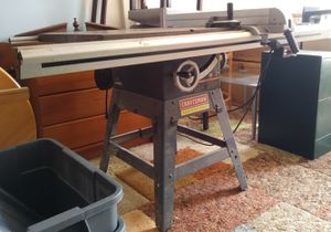 "Craftsman 10"" Tablesaw for Sale in Blackstone, MA"