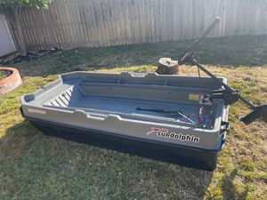 Sportsman electric fishing boat $$$ 600 $$$ for Sale in Rocklin, CA