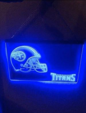 New LED Tennessee Titans Sign for Sale in Nashville, TN