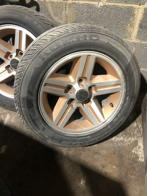 16 inch gold iroc wheels and tires for Sale in Washington, DC