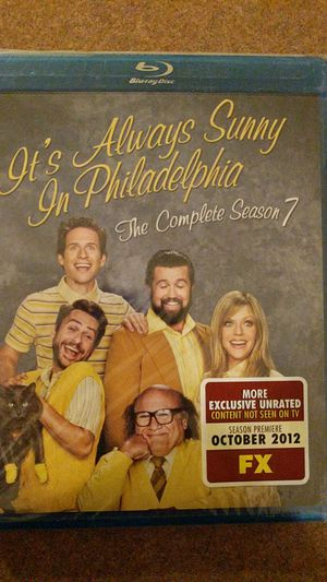 Complete it's always Sunny in Philadelphia season 7 Blu ray for Sale in Yuma, AZ