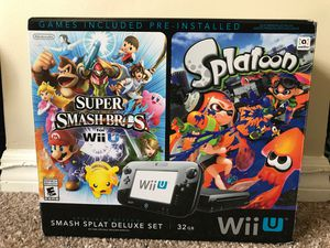 Nintendo Wii U special edition smash splat set for Sale in Miami, FL