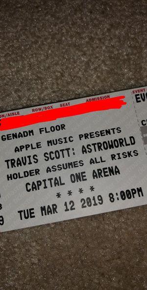 TRAVIS SCOTT Tickets for Sale in Sterling, VA