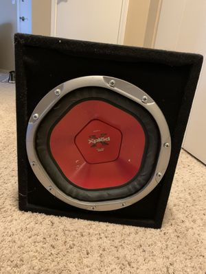 Sony Xplod subwoofer low 35Hz to 550Hz for Sale in Schaumburg, IL