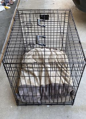 Small dog kennel with dog bed for Sale in San Juan Capistrano, CA