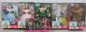 WIZARD OF OZ BARBIE dolls. Sold as set. for Sale in Chandler, AZ