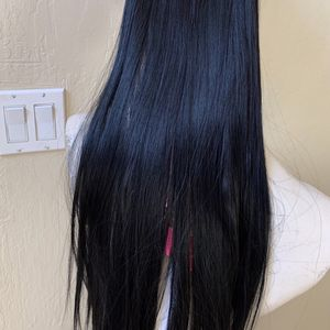 7 Pieces Hair Extensions With Clips In Black # 1 Jet Black for Sale in San Jose, CA
