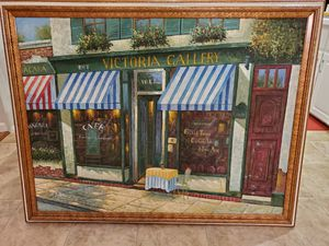 Painting French Bistro EXCELLENT CONDITION for Sale in Miramar, FL