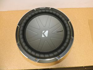 Subwoofers Kicker Comp Q Class 12 inch subs in a custom sealed box hooked up 1,700 watts rms @ 1 ohm for Sale in Phoenix, AZ