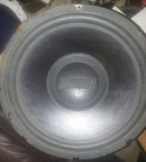 """Rare Earthquake DB15 15"""" Subwoofer for Sale in Norton, OH"""