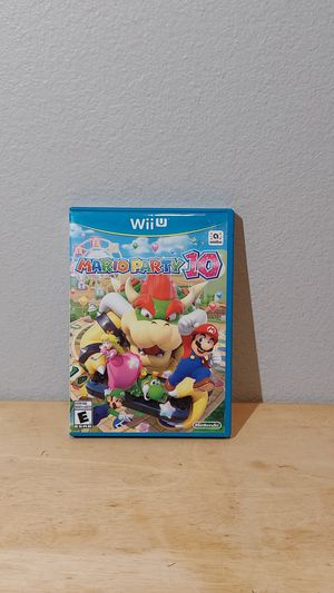Nintendo Wii U Mario Party 10 Game for Sale in HUNTINGTN BCH, CA