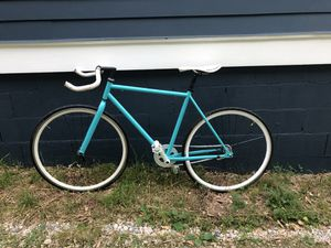Custom Built Single Speed Bike with High Speed Coaster Hub Road Wheels for Sale in Atlanta, GA