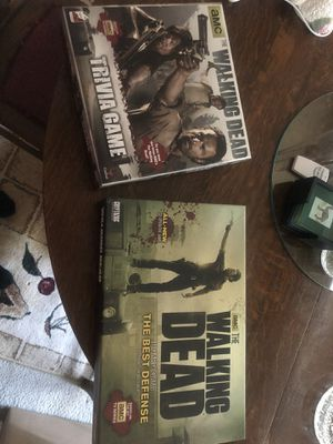 Walking Dead Trivia Game and Walking Dead Board Game for Sale in Aberdeen, WA