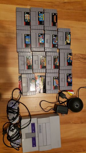 Super Nintendo with 14 games for Sale in West Valley City, UT