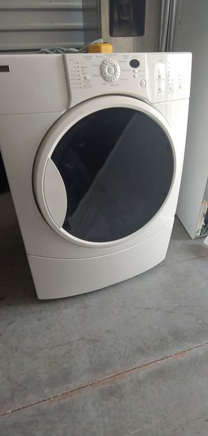 Kenmore elite set front load washer and gas dryer working great for Sale in Houston, TX