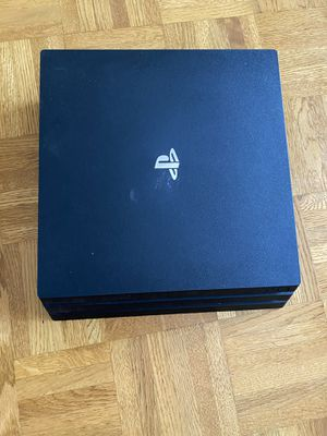 PS4 Pro with wires (no controller) for Sale in Falls Church, VA