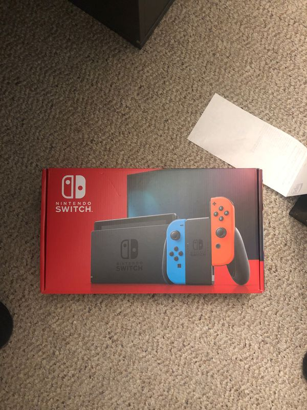 Selling Nintendo switch brand new