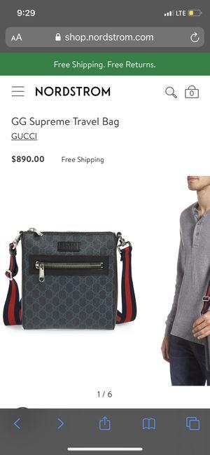 Gucci Supreme travel bag for Sale in Los Angeles, CA