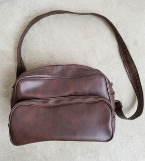 Vintage Two Compartment Imitation Leather Camera Bag for Sale in Gaithersburg, MD
