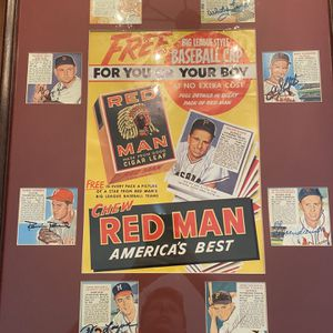 Singed Red Man Chewing Tobacco Poster for Sale in Abbottstown, PA