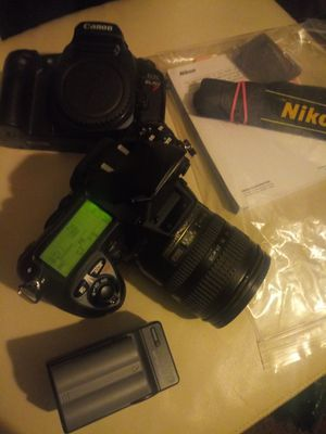 NIKON D200 DSLR USED + LENS 18-70MM for Sale in Bloomingdale, IL