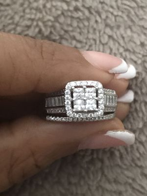 Zales bridal ring sterling silver for Sale in Oviedo, FL